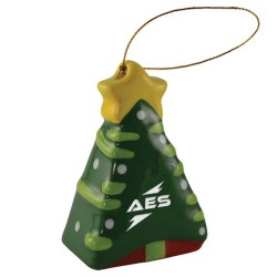 Ceramic 3D Christmas Tree Ornament