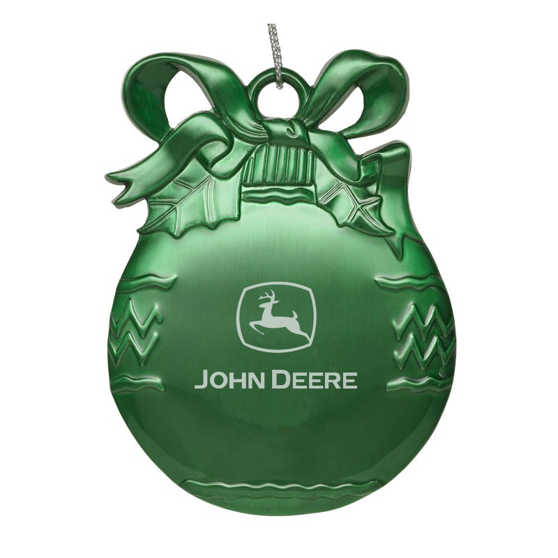 Color Pewter Christmas Ornament