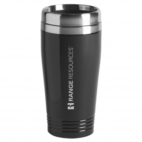 16 oz. Stainless Steel Metallic Color Tumbler - Range Resources
