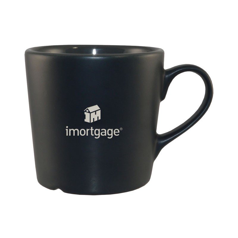 12 Oz Ceramic Barista Mug