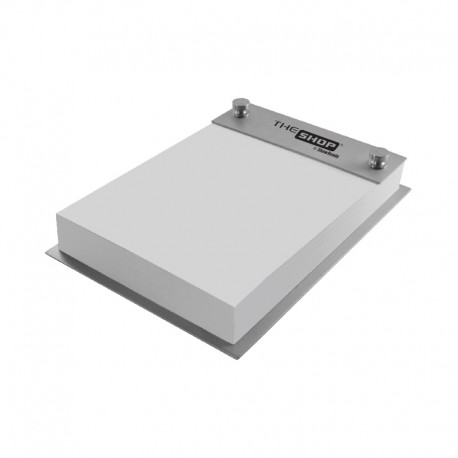 Contemporary Metals Note Pad Holder