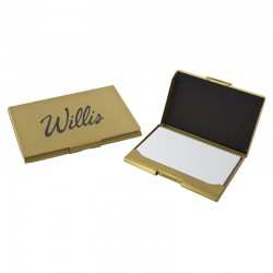 Contemporary Metals Business Card Holder