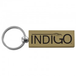 Contemporary Metals Key Chain (Rectangle)