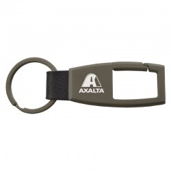 Monument Gunmetal Carabiner Key Chain
