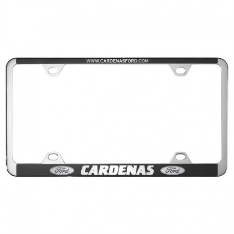50 Series Chrome Plastic License Plate Frame