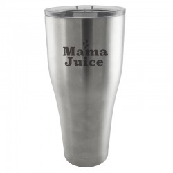 30 oz. Silver Gloss Insulated Tumbler