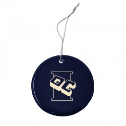 Ceramic Disc Ornament