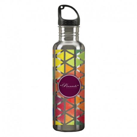24 oz. Stainless Steel Water Bottle - Digital Color Print