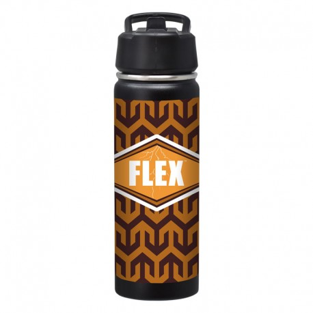 20 oz. Color Impact Travel Tumbler with Straw Lid - Digital Color Print