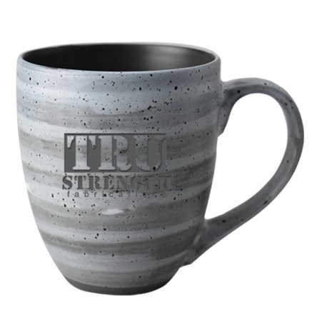 16 oz. Clay Swirl Pattern Ceramic Mug