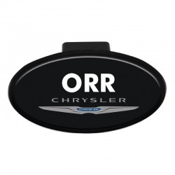 Domed Trailer Hitch Cover