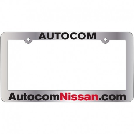Autocom Nissan of Concord License Plate Frame - Sutter\'s Mill ...