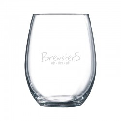 15 oz Boulder Wine Glass