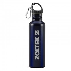 24 oz. Stainless Steel Carabiner Water Bottle