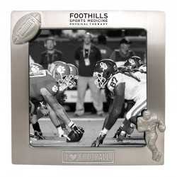 """I Love Football"" Photo Frame (Closeout)"