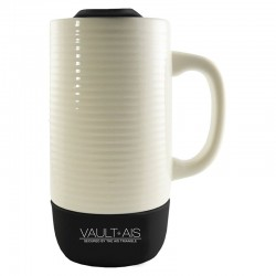 18 oz. Ceramic and Silicone Tumbler with Handle