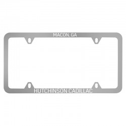 Polished Stainless Steel Plate Frame (72 Series) (PS-72-SIL)