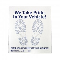 "17"" x 19"" Floor Mats (Uncoated Paper)"