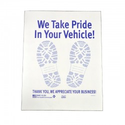 "16"" x 22"" Floor Mats (Coated Paper)"