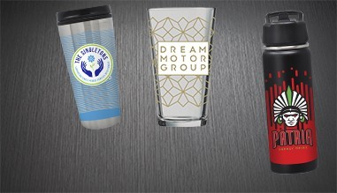 Digital Color Drinkware